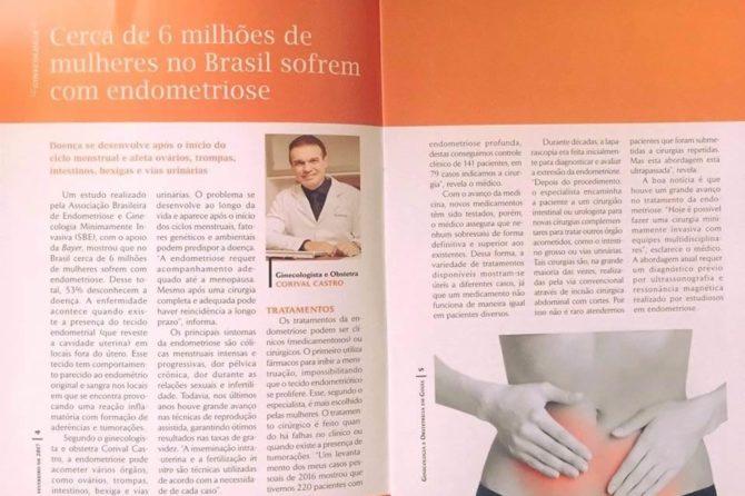 Cerca de 6 milhões de mulheres no Brasil sofrem com endometriose