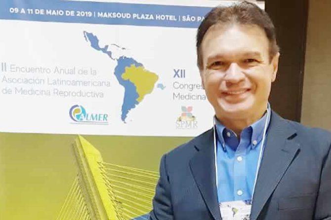 De 09 a 11 de maio, participei do II Encontro Latinoamericano de Medicina Reprodutiva